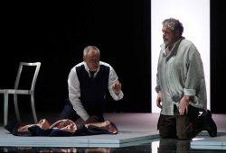 Andrzej Dobber (Jago), Stephen Gould (Otello). Foto: Forster