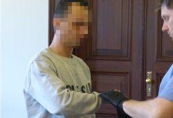 Der Angeklagte Marcel A. (32) muss fünfeinhalb Jahre hinter Gitter. Foto: Lucas Böhme