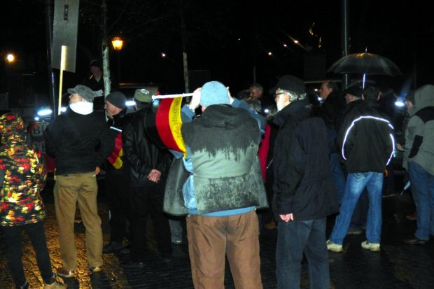 Bürgerbewegung, die Zweite. Foto: Lucas Böhme