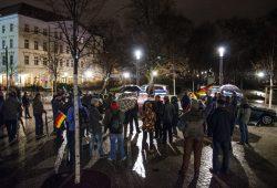 Die Bürgerbewegung Leipzig und nicht! Legida-Nachfolger auf dem Richard-Wagner-Platz. Foto: Tim Wagner