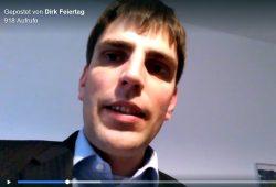 Dirk Feiertag, Leipziger Ex-OBM-Kandidat 2013 und Sozialrechtler ist sauer. Bild: Screen Facebookvideo Feiertag