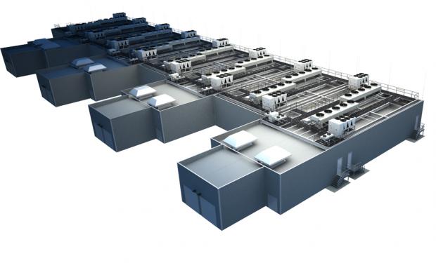 Die Gesamtplanung für das neue Rechenzentrum. Foto: ICTroom Company