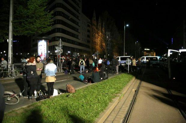 Dennoch war alles friedlich verlaufen. Foto: L-IZ.de