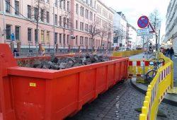Baustelle Könneritzstraße. Archivfoto: Marko Hofmann