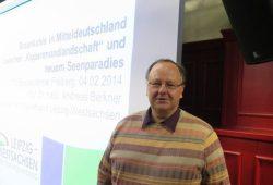 Referent Prof. Dr. Andreas Berkner. Foto: TU Freiberg