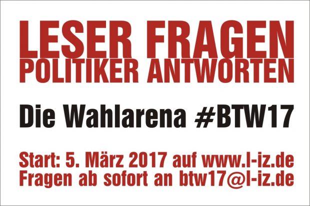 """Die Aktion Bundestagswahl 2017 """"#btw17"""" auf der L-IZ.de"""