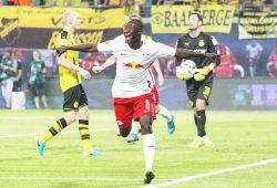 Siegtorschütze im Hinspiel, Hoffnungsträger im Rückspiel: Naby Keita. Foto: Gepa Pictures