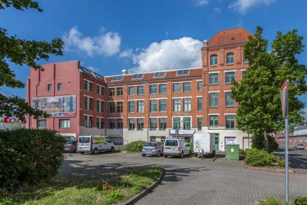 Saniertes Objekt im Quartier C der Kunst- und Gewerbehöfe in der Markranstädter Straße. Foto: CG-Gruppe