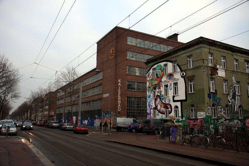 Das Westwerk mit Kaiserbad. Foto: L-IZ.de