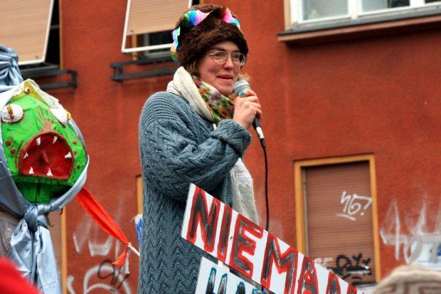 Der Wunsch war bei allen Redner einhellig: Dialog ist dringend geboten. Foto: L-IZ.de