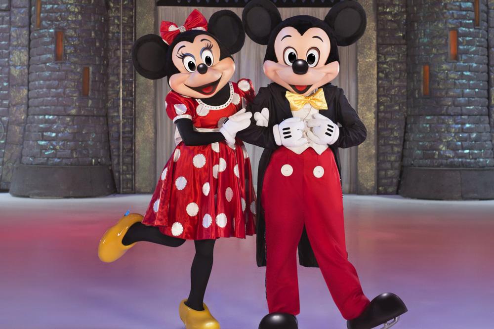 Mickey und Minnie. Foto: Feld Entertainment