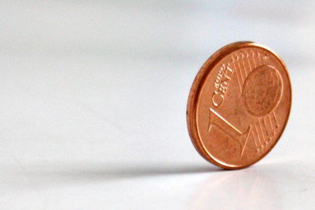 Wer den Cent nicht ehrt ... Foto: Ralf Julke