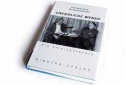 Hermann Kant, Gerhard Zwerenz: Unendliche Wende. Foto: Ralf Julke