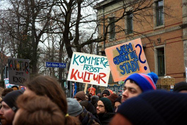 Kultur statt Kommerz - die Verdrängung findet gerade statt. Foto: L-IZ.de