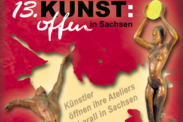 Plakat: Kunst:offen in Sachsen e.V.