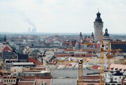 Leipzig-Panorama. Foto: Ralf Julke