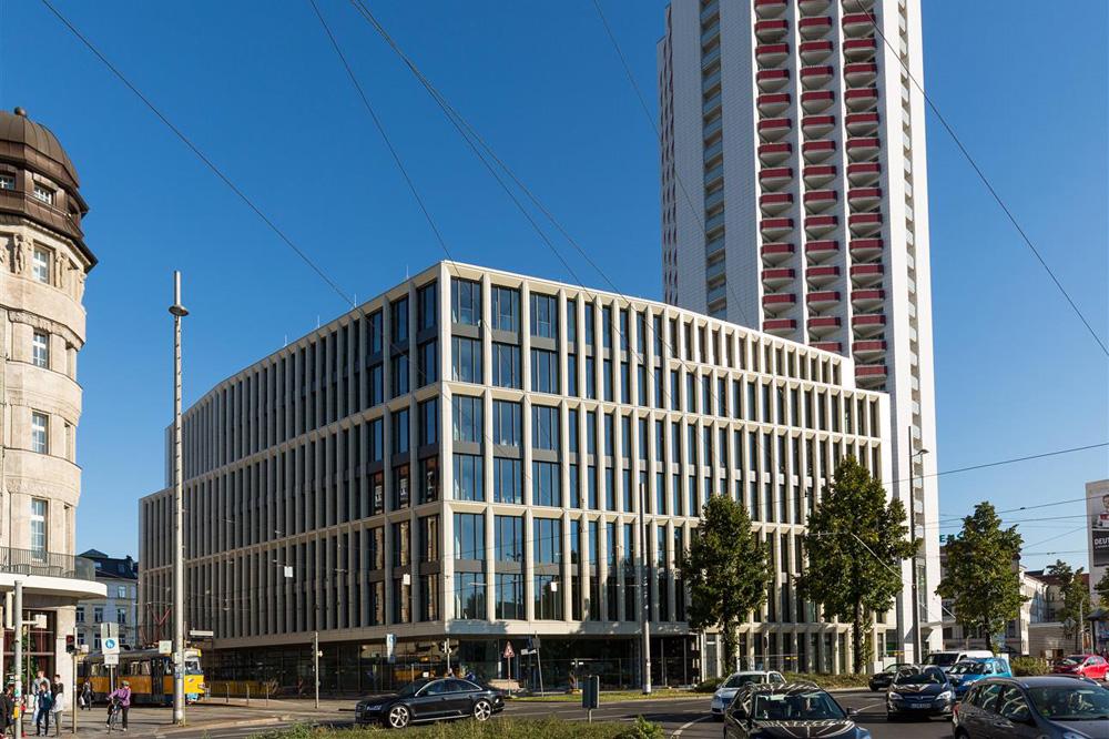 Die Zentrale der LWB (noch ohne Leuchtwerbung). Foto: LWB, Peter Usbeck