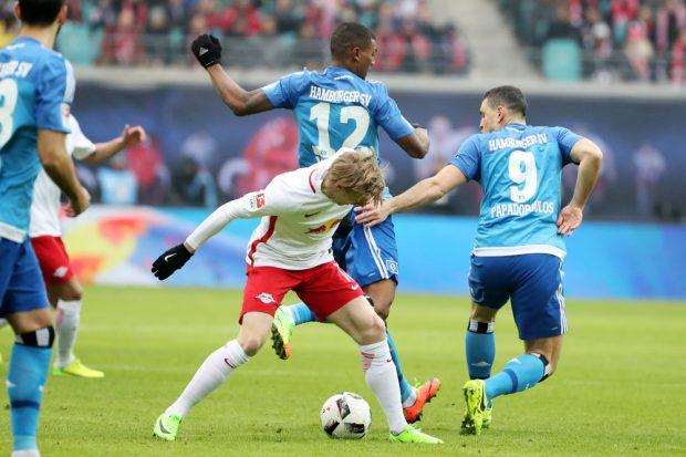 Emil Forsberg ist nach abgesessener Sperre wieder dabei. Foto: GEPA pictures/Sven Sonntag
