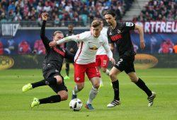 Timo Werner baut die Führung weiter aus. Foto: GEPA pictures/Kerstin Kummer