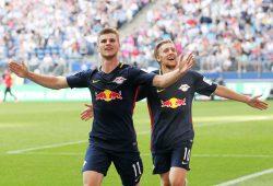 Feiern gegen den HSV wahrscheinlich ihr Comeback: Werner und Forsberg. Foto: GEPA Pictures