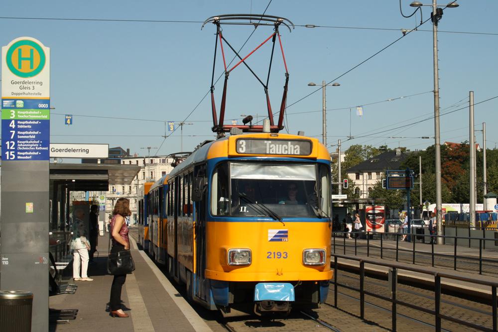 Linie 3 am Goerdelerring. Foto: Ralf Julke