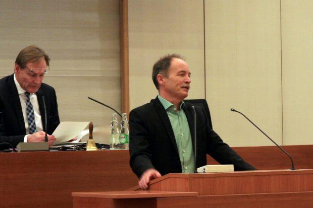 Sven Morlok bleibt skeptisch gegenüber dem OB. Foto: L-IZ.de
