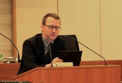 Der Antrag auf Mittelerhöhung für Umweltvereine - hier Norman Volger bei der Einbringung - kam nicht durch. Bei der Bürgerbeteiligung gabs hingegen einen Zuschlag. Foto: L-IZ.de