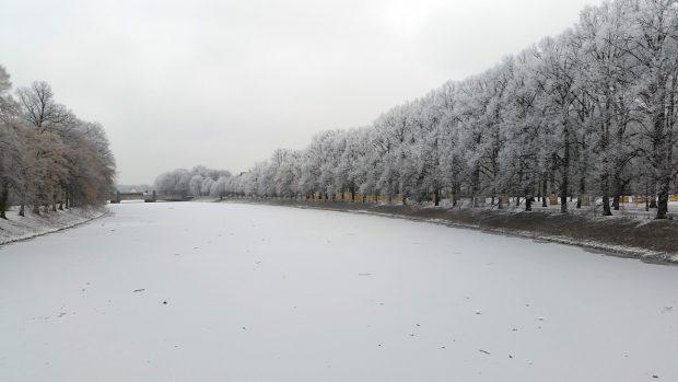 Eisige Zeiten. Foto: Marko Hofmann