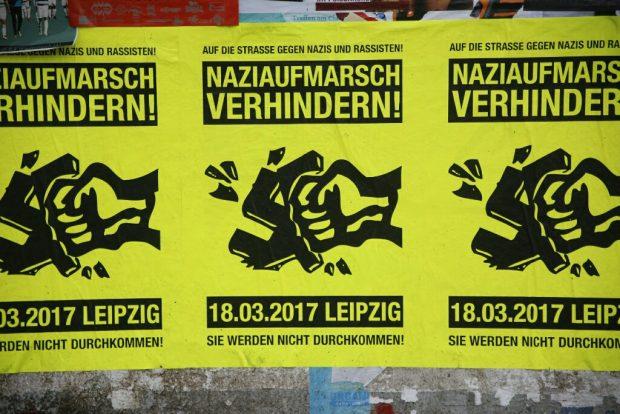 10:30 Naziaufmarsch verhindern. Foto: L-IZ.de