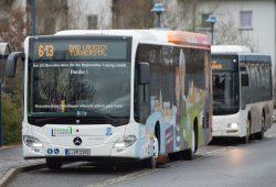 Muldental in Fahrt (hier: Buslinie 613): Foto: Christian Modla/Westend Communication