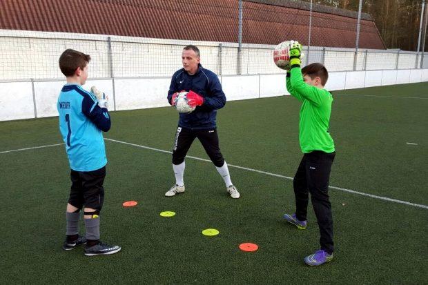 André Schmidt arbeitet heute als Torwarttrainer. Foto: Privat