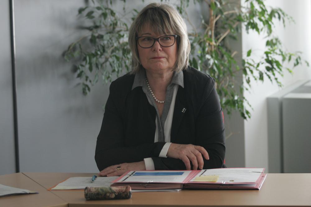 Angelika Freifrau von Fritsch, Leiterin des Amtes für Umweltschutz Foto: Sebastian Beyer