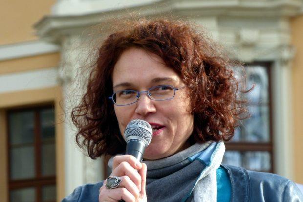 Initiatorin Barbara Rucha. Foto: Lucas Böhme