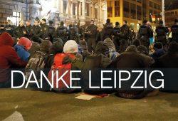 Danke Leipzig. Foto: Alexander Böhm
