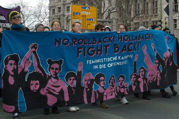 Demo gegen den sexistischen Rollback. Foto: René Loch