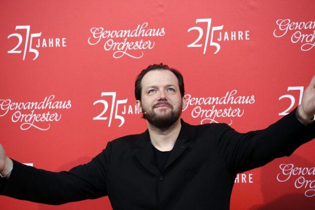 Gewandhauskapellmeister Andris Nelsons. Foto: Alexander Böhm