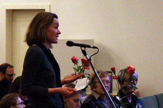 Juliane Nagel (Die Linke). Die Skepsis bleibt. Foto: L-IZ.de