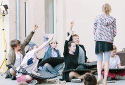 Die TheaterTeens. Foto: Kulturwerkstatt KAOS
