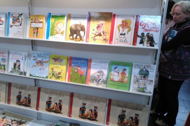 """Bekannte und neue Titel für Kinder bietet der """"Leipziger Kinderbuchverlag"""". Foto: Sebastian Beyer"""