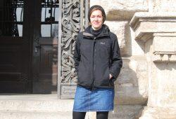 Stadträtin Juliane Nagel ruft zum Protest gegen Neonazis auf. Foto: René Loch