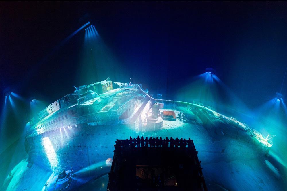Panorama TITANIC aus der Draufsicht. Foto: Tom Schulze