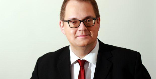 Sören Pellmann (Die Linke) geboren 1977 in Leipzig, Grund- und Förderschullehrer. Foto: Die Linke Leipzig