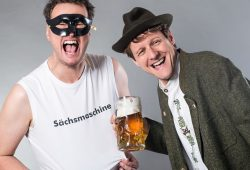 Stelzner & Bauer – Sächsmaschine und Süßer Senf. Foto: PR