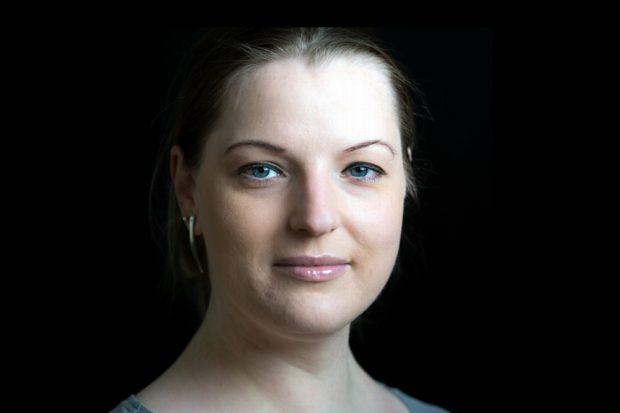 Ute Elisabeth Gabelmann (Die Piraten), Kommunikationstrainerin, Stadträtin und geboren 1981. Foto: Piraten Leipzig