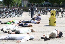 Anti-Atom-Flashmob 2011. Foto: Ralf Julke