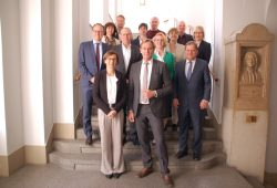 Am 27. März 2017 tagte an der HTWK Leipzig erstmals der gemeinsame Beirat zur Kooperationsvereinbarung zwischen Hochschule und Stadt Leipzig. Foto: F. Platz/HTWK Leipzig