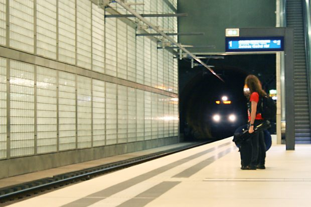 City-Tunnel unterm Wilhelm Leuschner-Platz. Foto: Ralf Julke