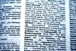 """Stichwort """"deutsch"""" im """"Wahrig"""". Foto: Ralf Julke"""