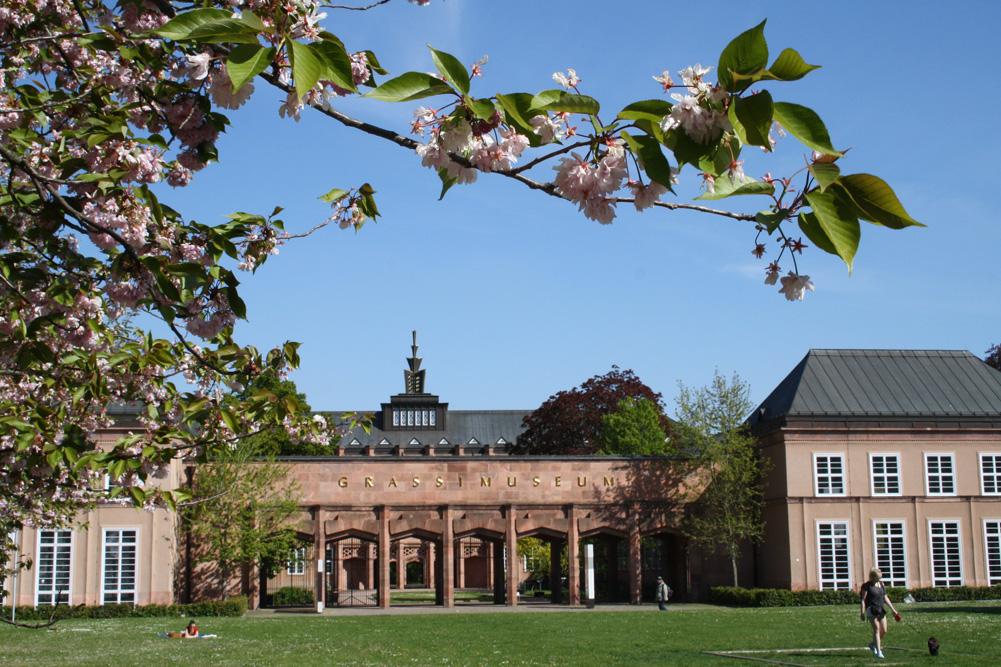 Der GRASSI Museumskomplex. Foto: Ralf Julke