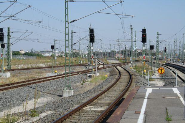 Blick ins Vorfeld des Leipziger Hauptbahnhofs. Foto: Ralf Julke